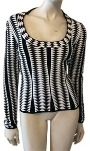 ALAÏA Top Black/White