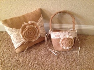 Matching Ringbearer And Flower Girl Set