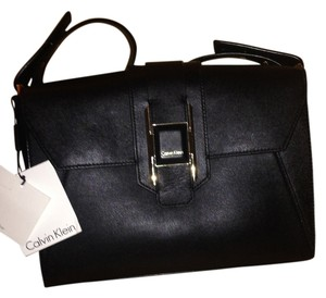 Calvin Klein Leather Shoulder Bag