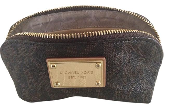Item - Brown Cosmetic Bag