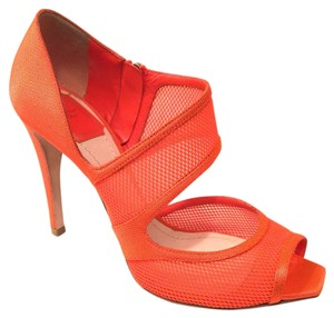 Dior Orange Pumps