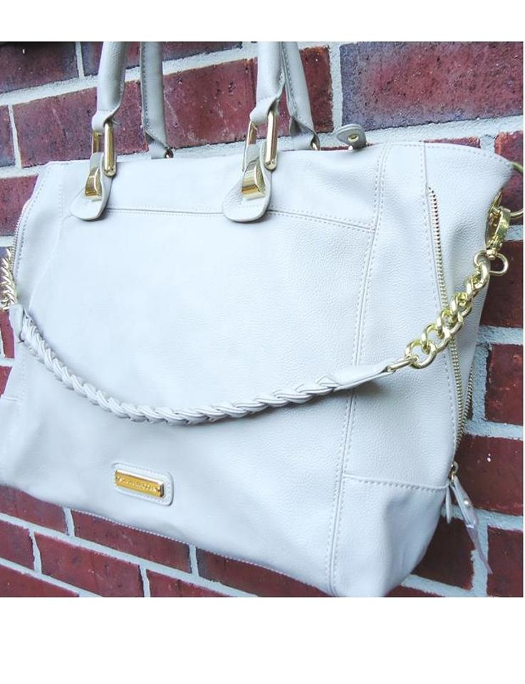 255afb68c1 Steve Madden Bsocial Pebble Convertible Sand/Beige Tote - Tradesy