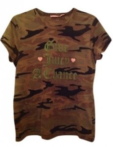 Juicy Couture T Shirt Camouflage