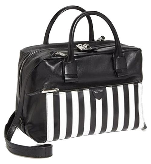 Preload https://item2.tradesy.com/images/marc-jacobs-prince-antonia-black-and-white-leather-satchel-1416941-0-0.jpg?width=440&height=440