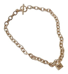 Michael Kors NEW Authentic MICHAEL KORS GOLD Padlock 23
