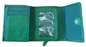 Fossil Fossil wallet Green Trifold