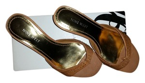 Nine West Tan Sandals