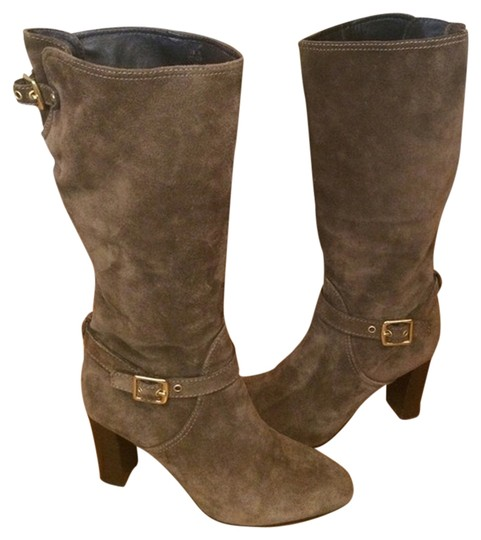 Coach Suede Fall Winter Classic Flint (Olive/Taupe) Boots