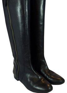 Nine West Zip Black Boots
