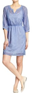 Old Navy short dress Blue/Purple on Tradesy