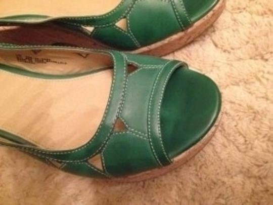 Mossimo Supply Co. green Wedges