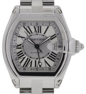 Cartier Cartier XL Roadster GMT Stainless Steel Watch