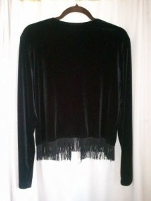 My Michelle Top black velvet
