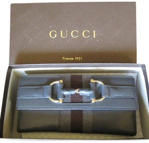 Gucci Gucci Checkbook clutch wallet