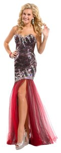 Party Time Formals Prom Beads Sequins Dress
