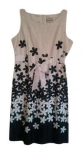 Karin Stevens short dress White, Black Multi on Tradesy