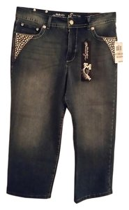 Style & Co Capri/Cropped Denim-Distressed