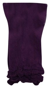 Jessica Simpson Jessica Simpson Ruffled Cuff Ankle Socks One Size 9-11 Purple