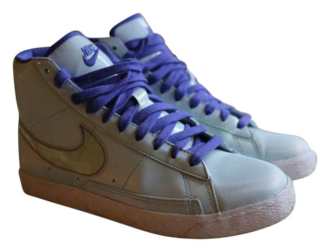 Nike Blue Women's Sneakers Size US 7 Regular (M, B) Image 1