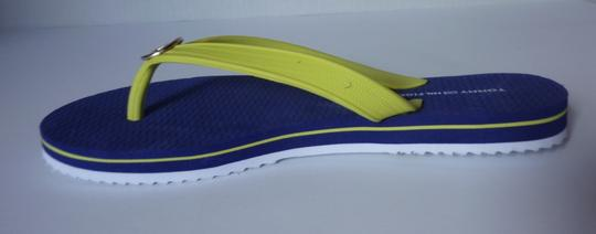 Tommy Hilfiger Yellow, Blue Sandals Image 1