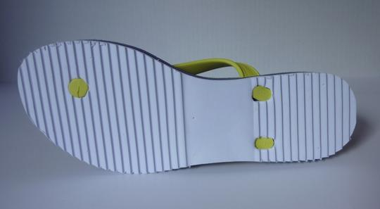 Tommy Hilfiger Yellow, Blue Sandals Image 2