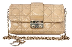 Dior Patent Patent Leather Quilted Cross Body Bag