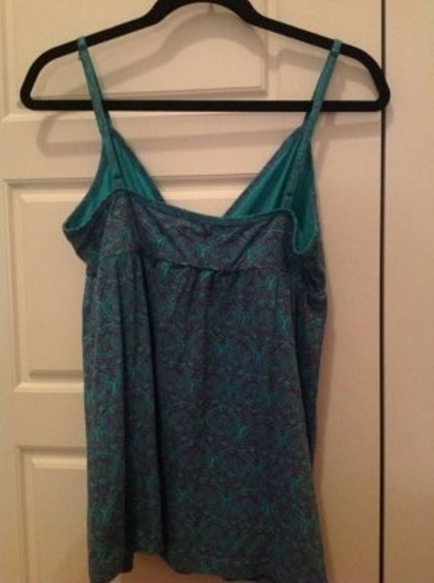 Billabong Top Teal with purple