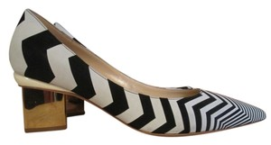 Nicholas Kirkwood Black & White Pumps