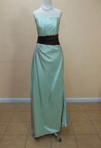 Impression Bridal Celadon/Espresso 1749 Dress