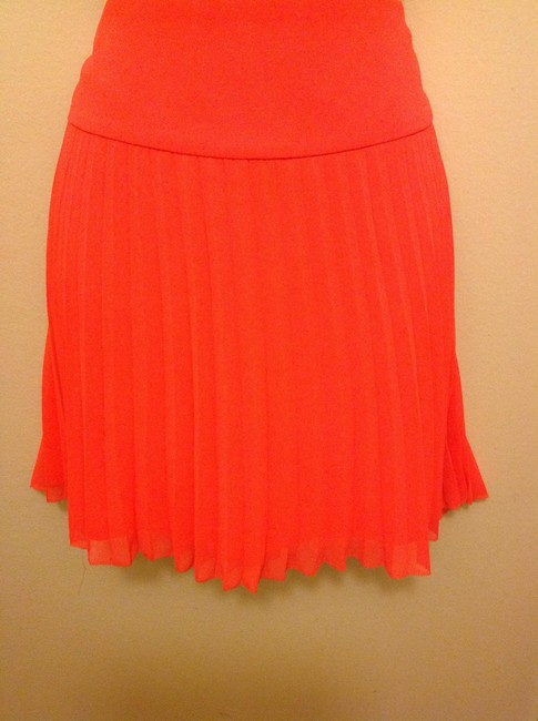 Express Mini Skirt Orange