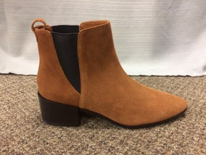Zara Suede Casual Cool Brown Boots