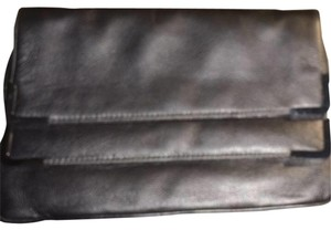 Michael Kors Anthracite Gunmental Clutch