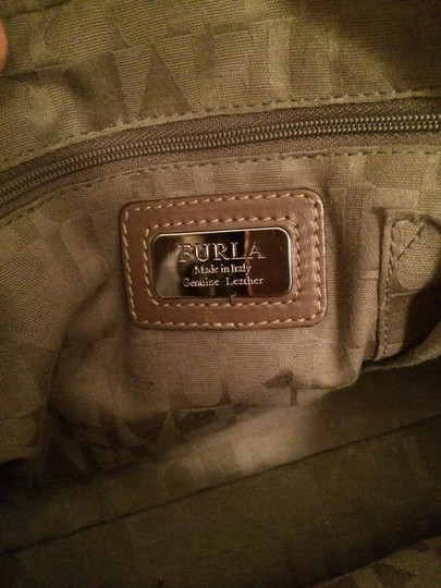 Furla Satchel in Tan