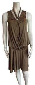 Just Cavalli short dress olive on Tradesy