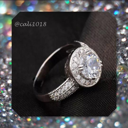 Other New Gorgeous Silver AAA CZ Stones Engagment/Wedding Ring Sz 7