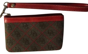 Dooney & Bourke DB Red Wristlet