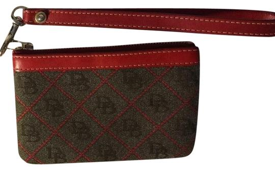 Preload https://img-static.tradesy.com/item/1418018/dooney-and-bourke-red-and-gray-db-wristlet-wallet-0-0-540-540.jpg