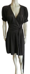 Diane von Furstenberg short dress dark brown on Tradesy