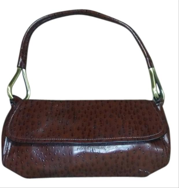 Bueno Collection Brown Clutch Image 1