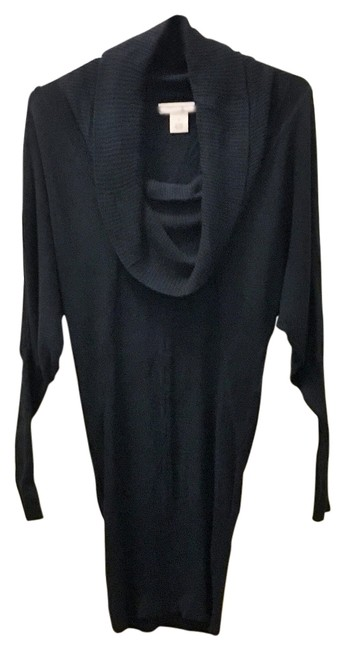 Arden B. Dolman Sleeves Tunic Cowl Neck Sweater