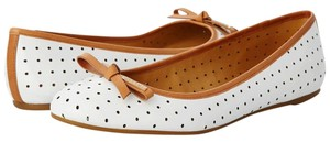Coach Chalk/Ginger Flats