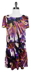 Ali Ro short dress Print Silk on Tradesy