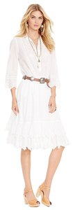 Ralph Lauren short dress White Cotton Shirt on Tradesy