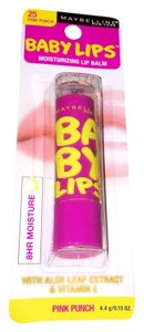 Maybelline Maybelline Baby Lips Moisturizing Lip Balm With 20 Spf- Pink Punch