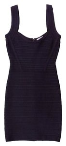 Herv Leger Herve Nylon Rayon Dress