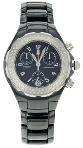 Michele Michele Tahitian Ceramic 0.47 Factory Diamond Quartz Ladies Watch