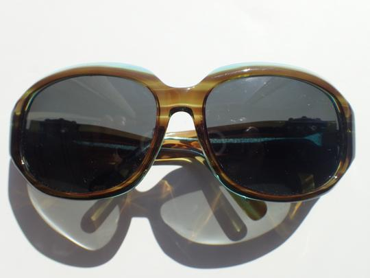 Sama Sama Sunglasses Rx Multicolor Fashion Frame Blue/Honey Translucent