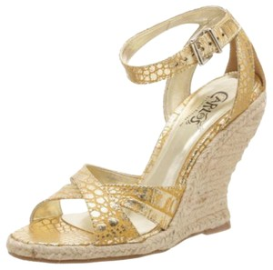 Carlos by Carlos Santana Gold Wedges