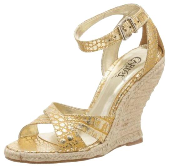 Preload https://img-static.tradesy.com/item/14181871/carlos-by-carlos-santana-gold-wedges-size-us-75-regular-m-b-0-1-540-540.jpg