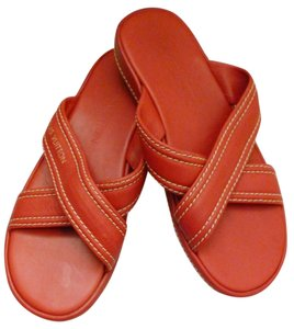Louis Vuitton Slippers Red Rose Sandals